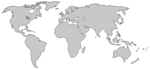 World Map PNG Transparent Image icon png