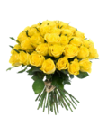 Yellow Flowers Bouquet Transparent PNG icon png